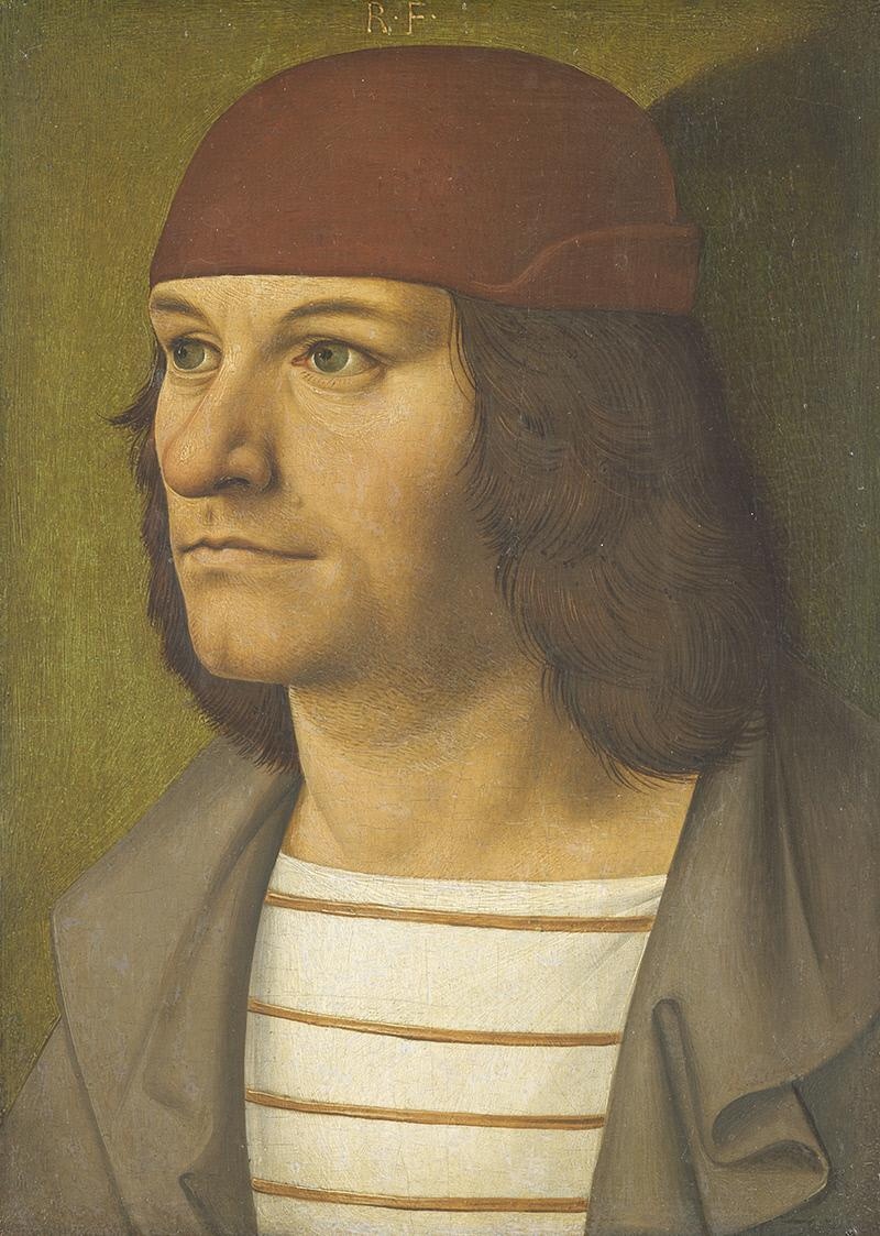 Ryuland Fruauf Elder. Portrait of the painter Jobst Seyfrid