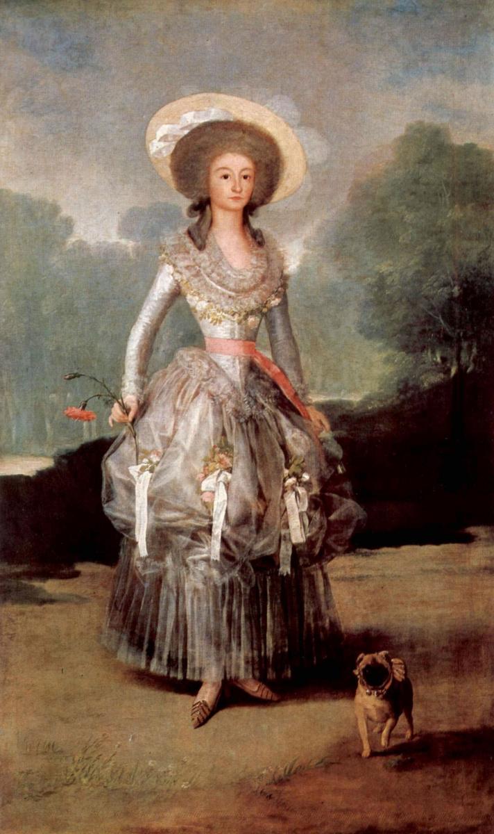 Франсиско Гойя. Портрет маркизы де Понтехос и Сандоваль, герцогини Понтехо
