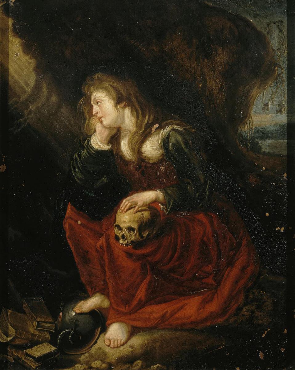 Симон де Вос. Кающаяся Мария Магдалина