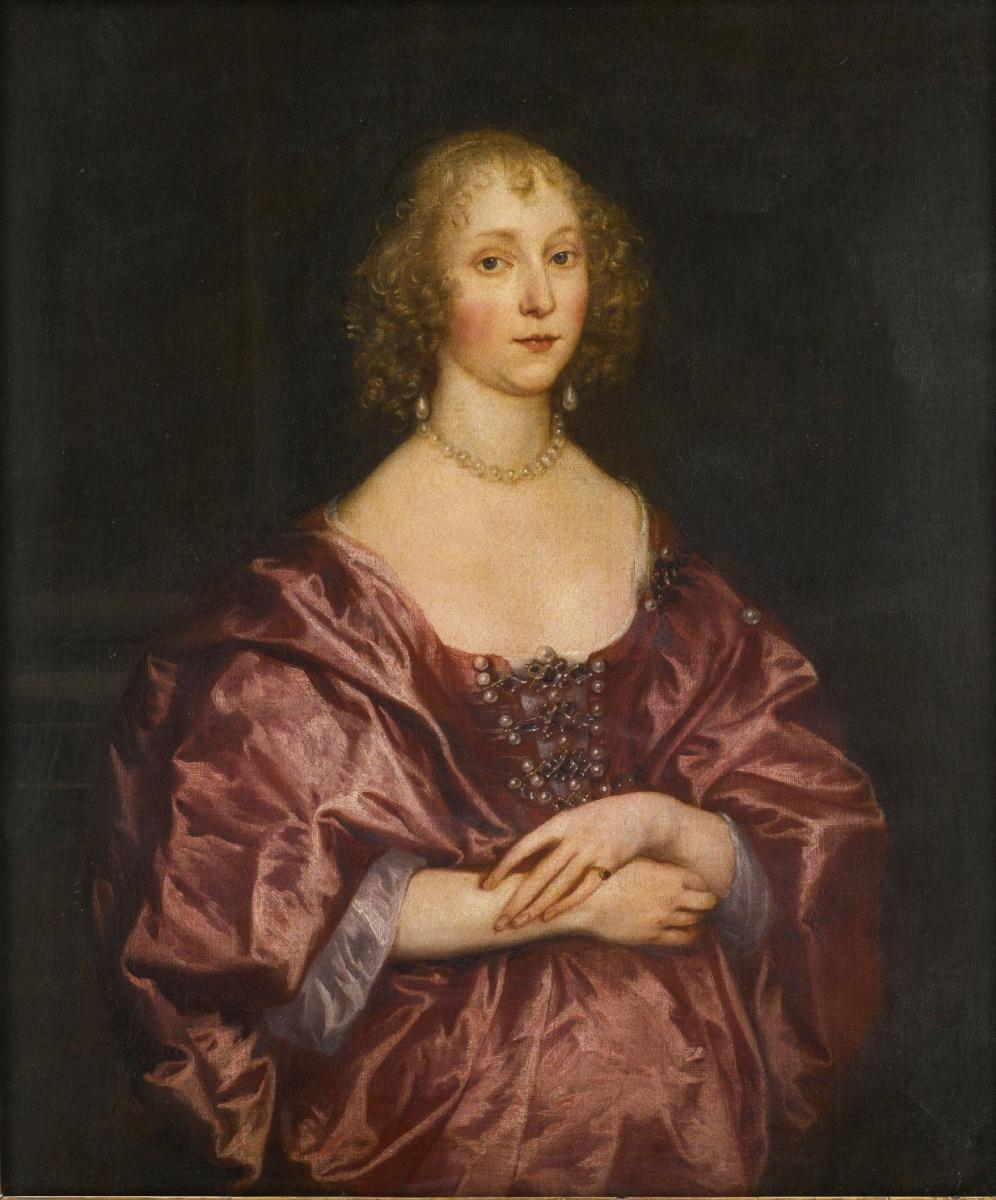 Anthony van Dyck. Portrait of a lady