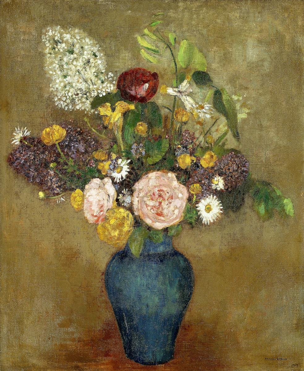 Odilon Redon. Vase with Flowers
