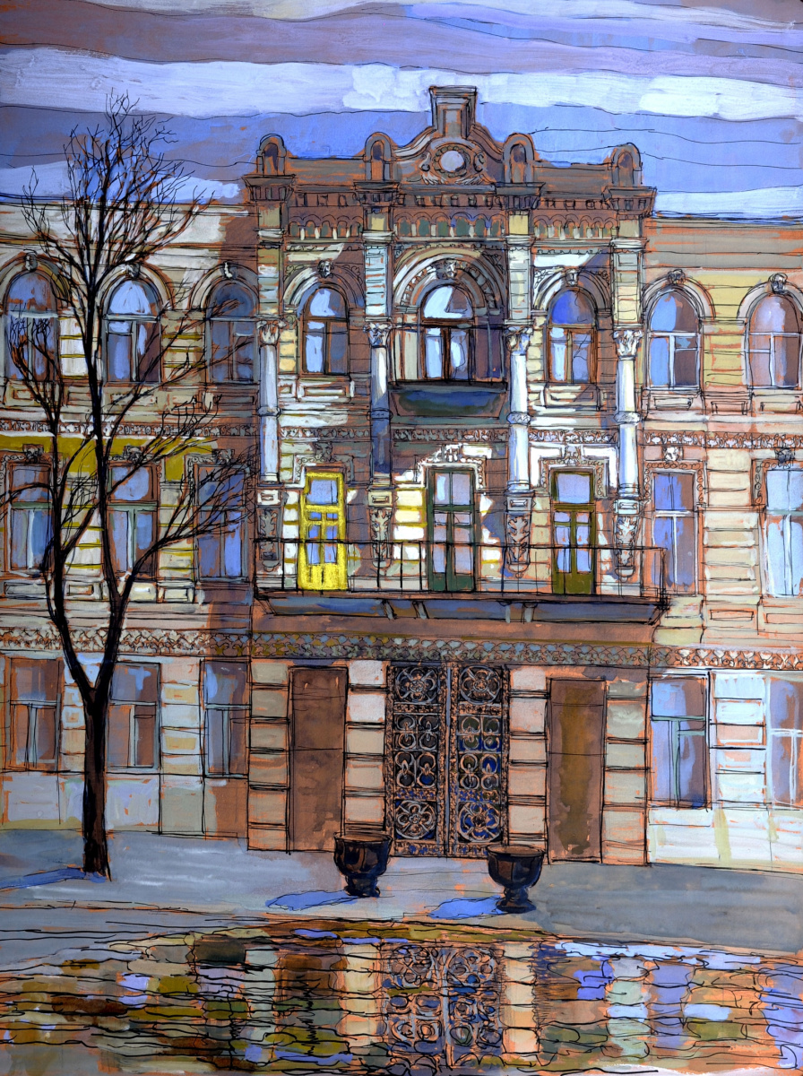 Sofia Rychanova. House in Shaumyana (Dmitrov)