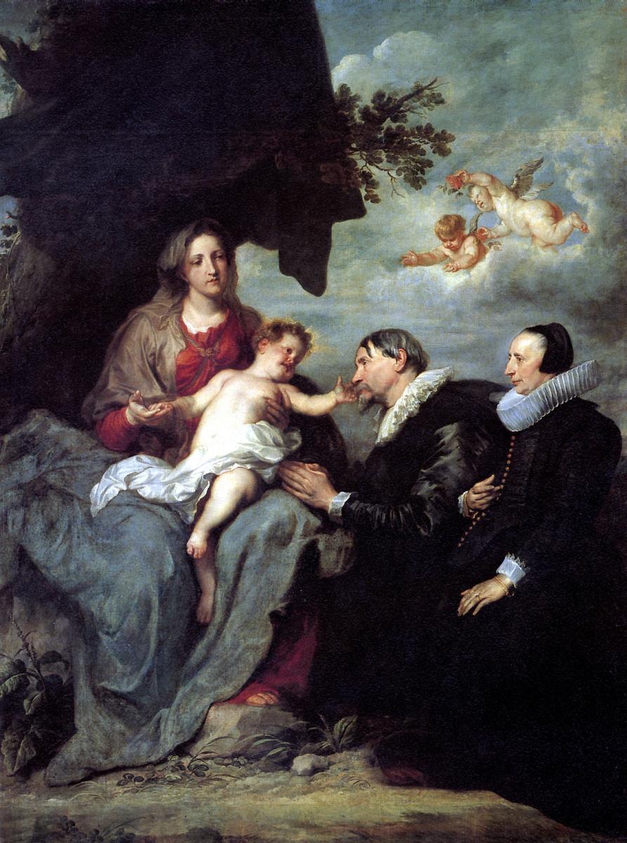 Антонис ван Дейк. Мария с младенцем Христом