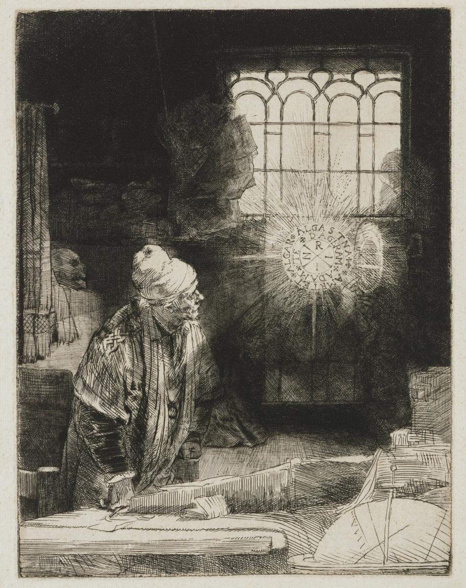 Рембрандт Харменс ван Рейн. Фауст