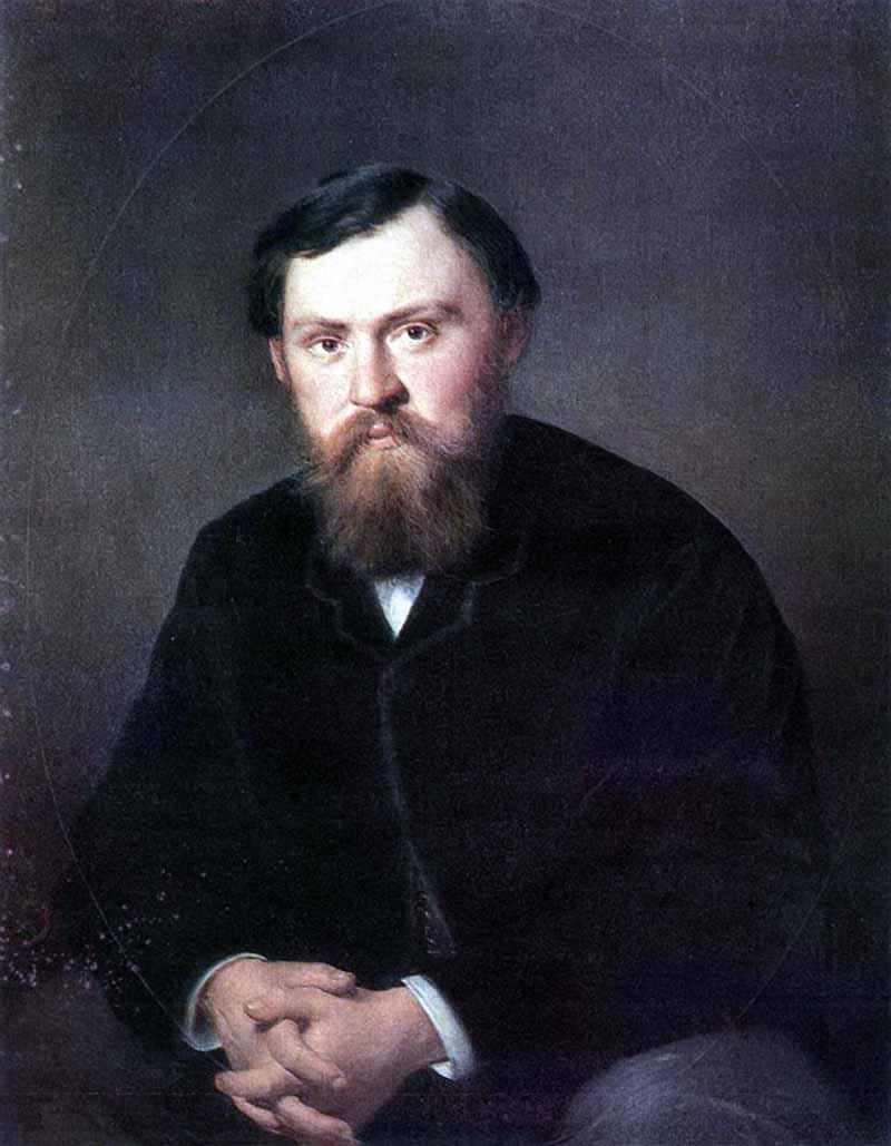 Василий Григорьевич Перов. Портрет А. А. Борисовского