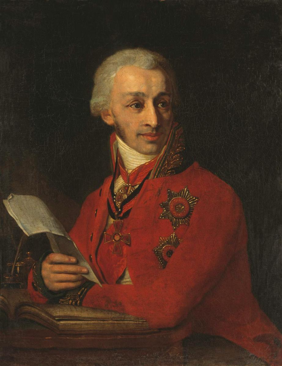 Владимир Лукич Боровиковский. Портрет государственного казначея Ф. А. Голубцова. Около 1806