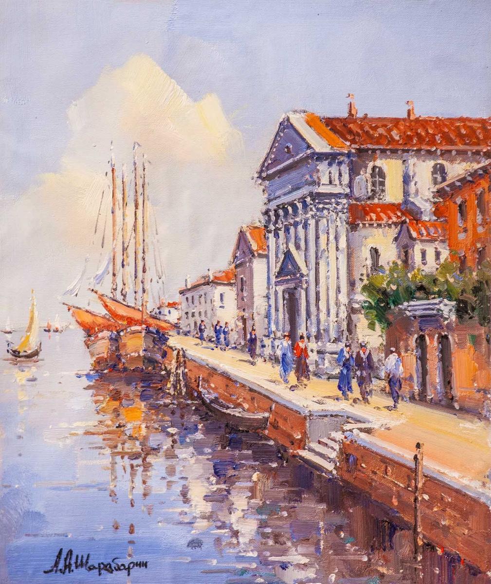 Andrey Sharabarin. Dreams of Venice N12