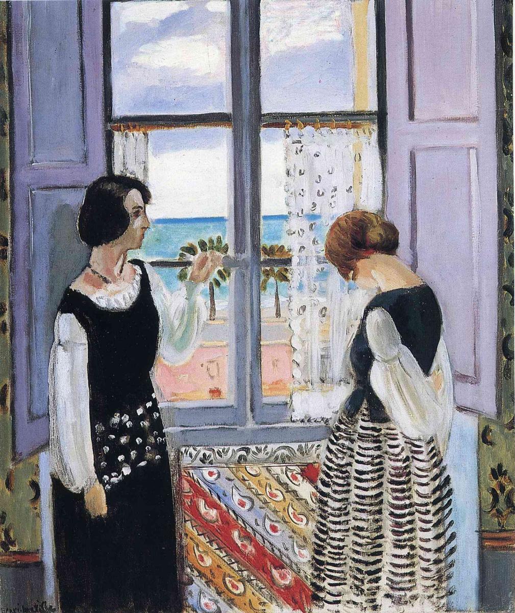 Анри Матисс. Женщины у окна
