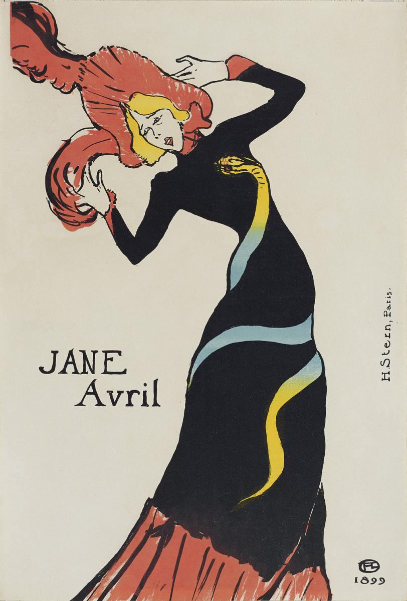 Анри де Тулуз-Лотрек. Жанна Авриль