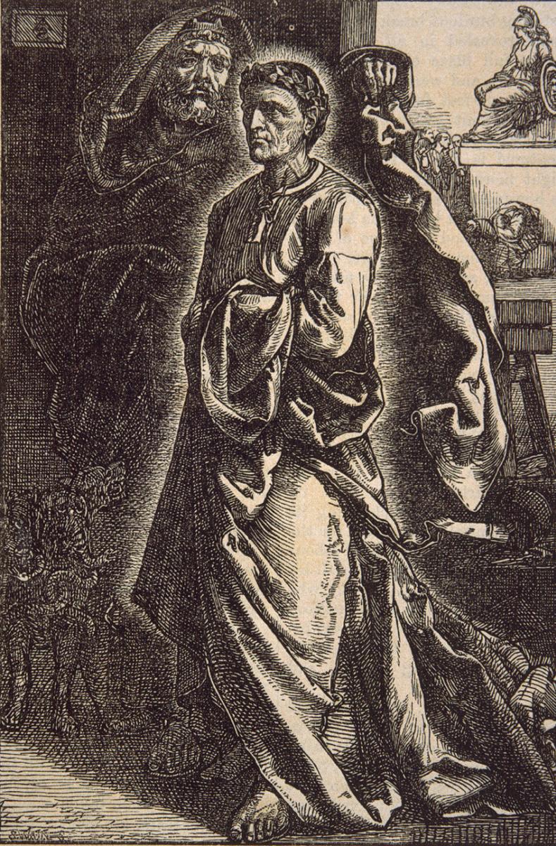 Энтони Фредерик Огастас Сэндис. Три статуи Эгины