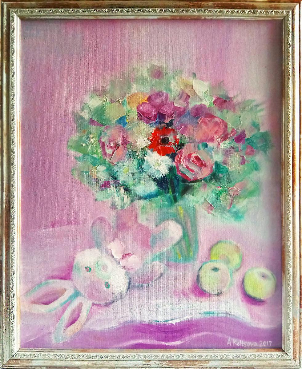 Anastasia Sergeevna Koltsova. Pink morning