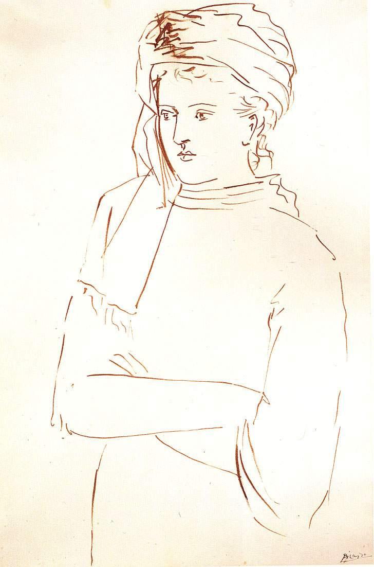 Пабло Пикассо. Портрет Сары Мерфи