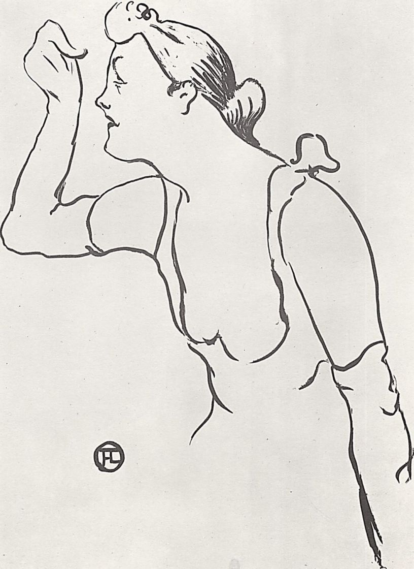 Анри де Тулуз-Лотрек. Паула Бребьон