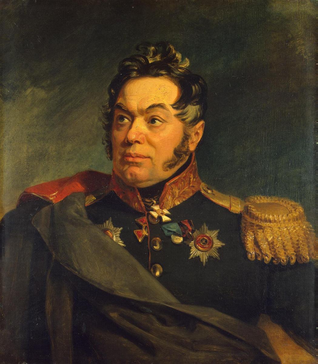 Джордж Доу. Портрет Василия Даниловича Лаптева