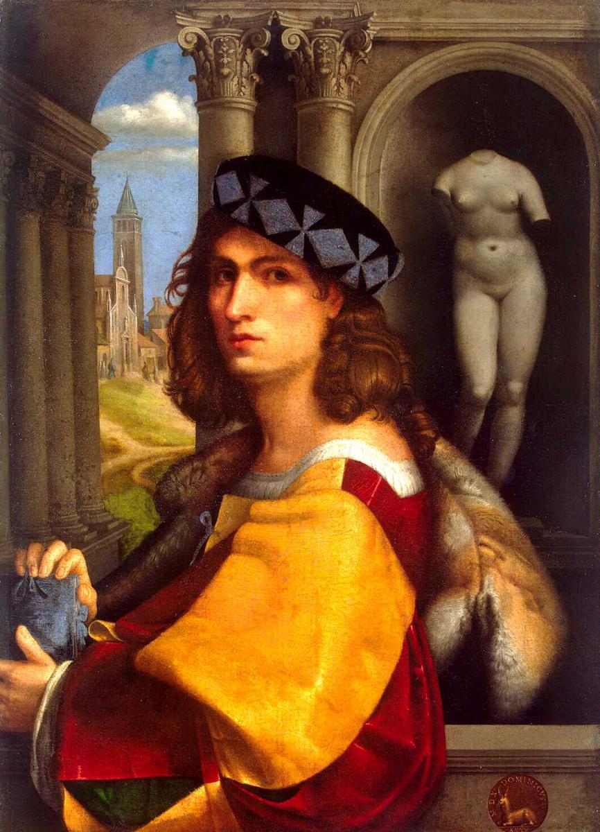 Доменико Каприоло. Мужской портрет