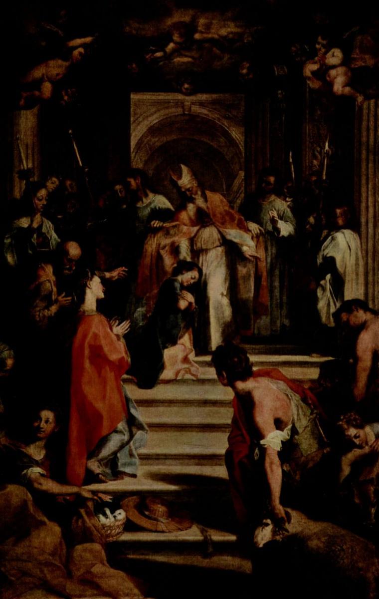 Федерико Бароччи. Введение во храм