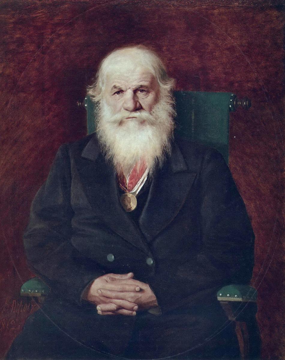 Василий Григорьевич Перов. Портрет Ивана Камынина