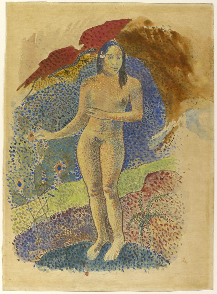 Paul Gauguin. Tahitian Eve