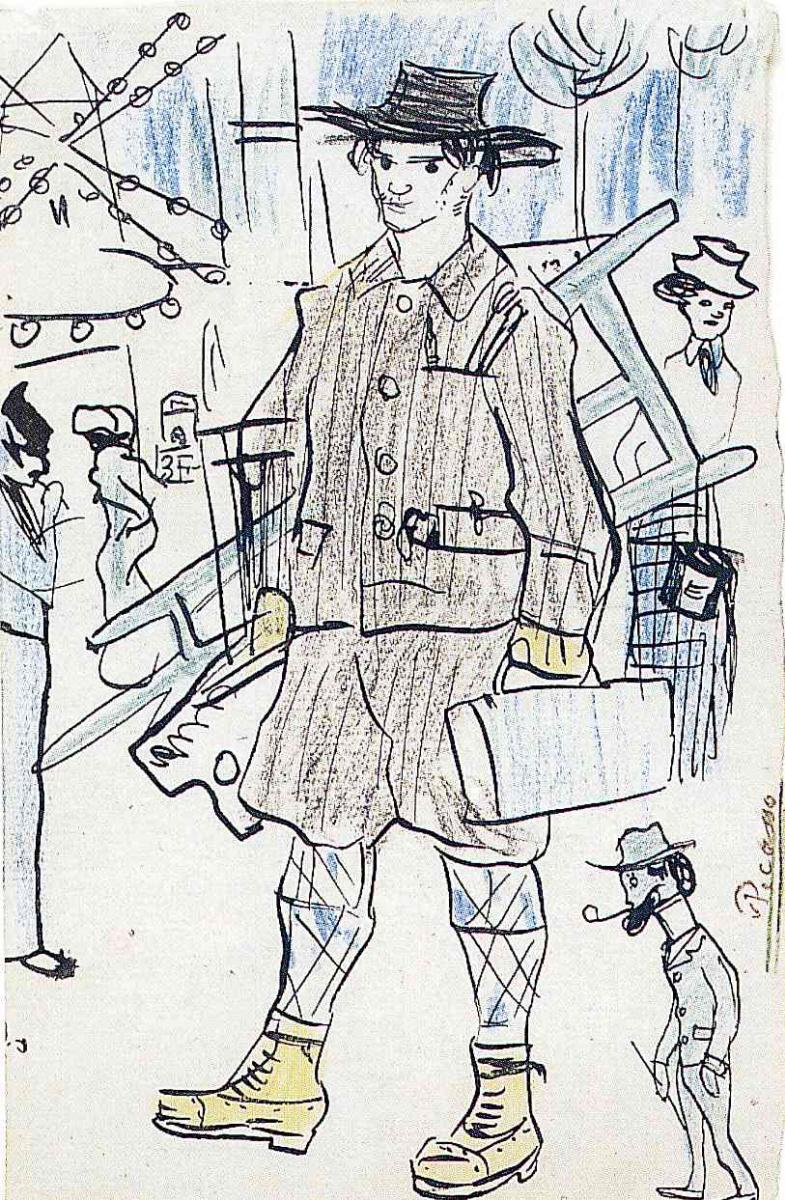 Пабло Пикассо. Работник