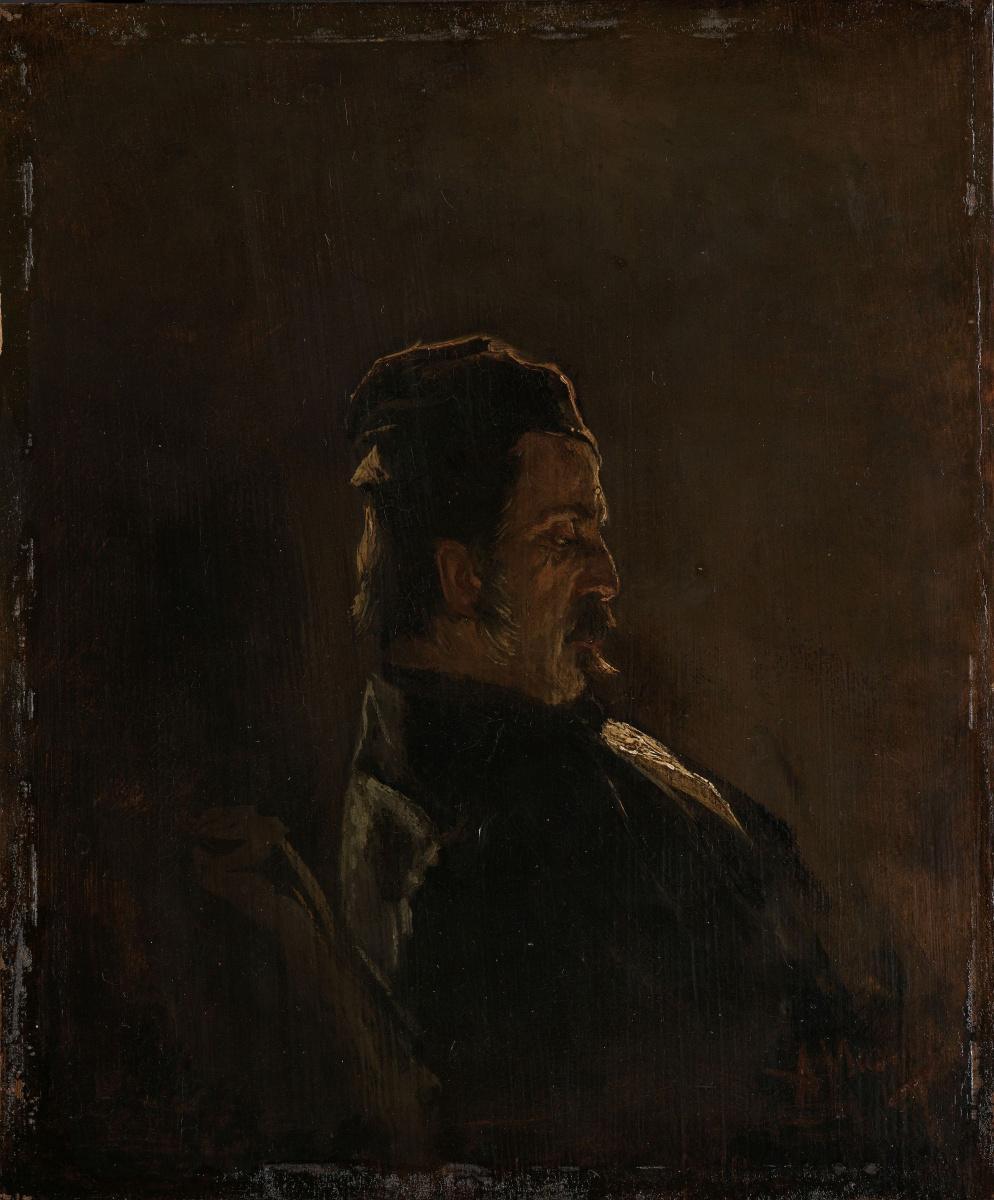 Anton Maouve. Portrait painter Pieter Frederik van Wasp