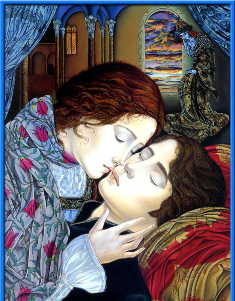 Laurel Long. A gentle kiss