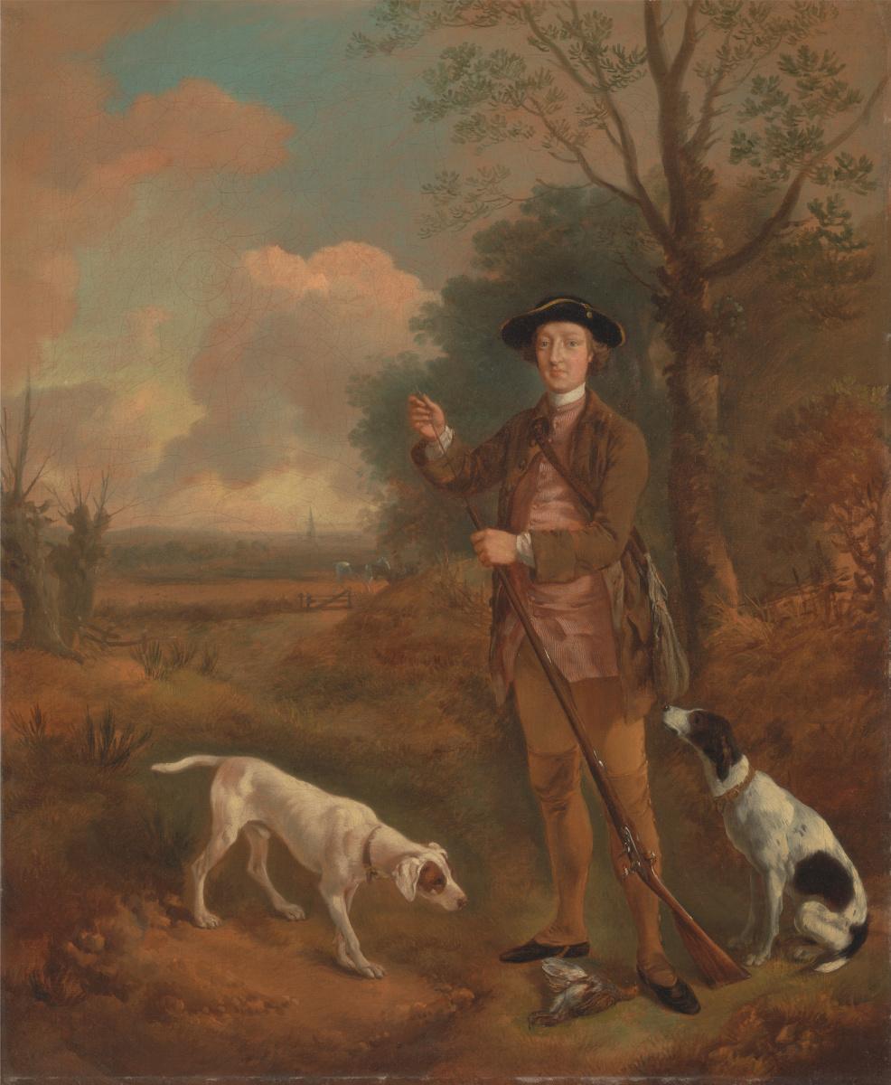Thomas Gainsborough. Major John Dade, Cannington, Suffolk