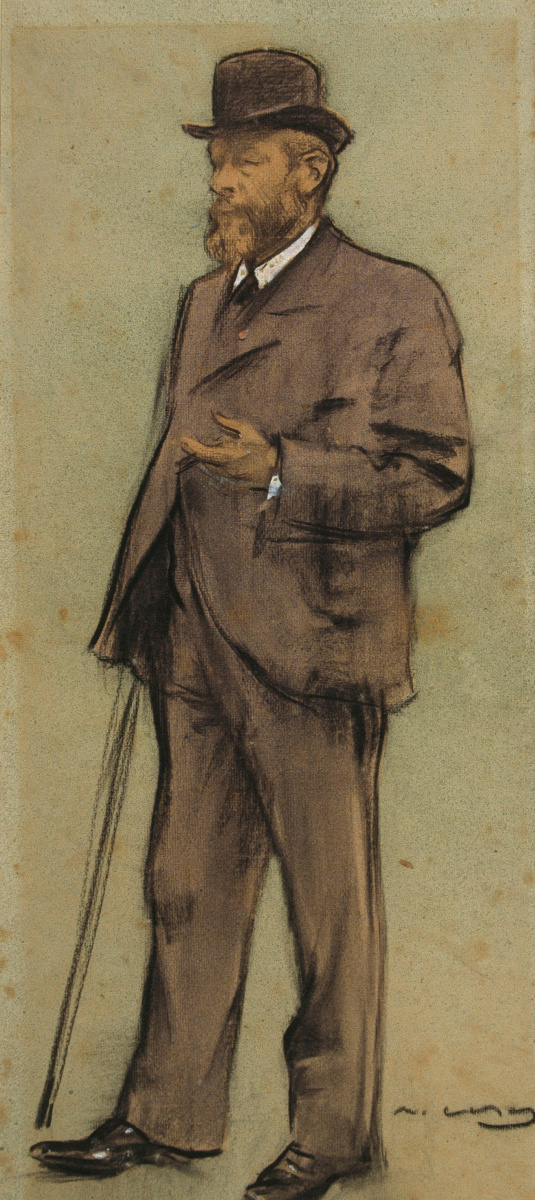 Рамон Касас Карбо. Портрет Альбрехта де Вудрута