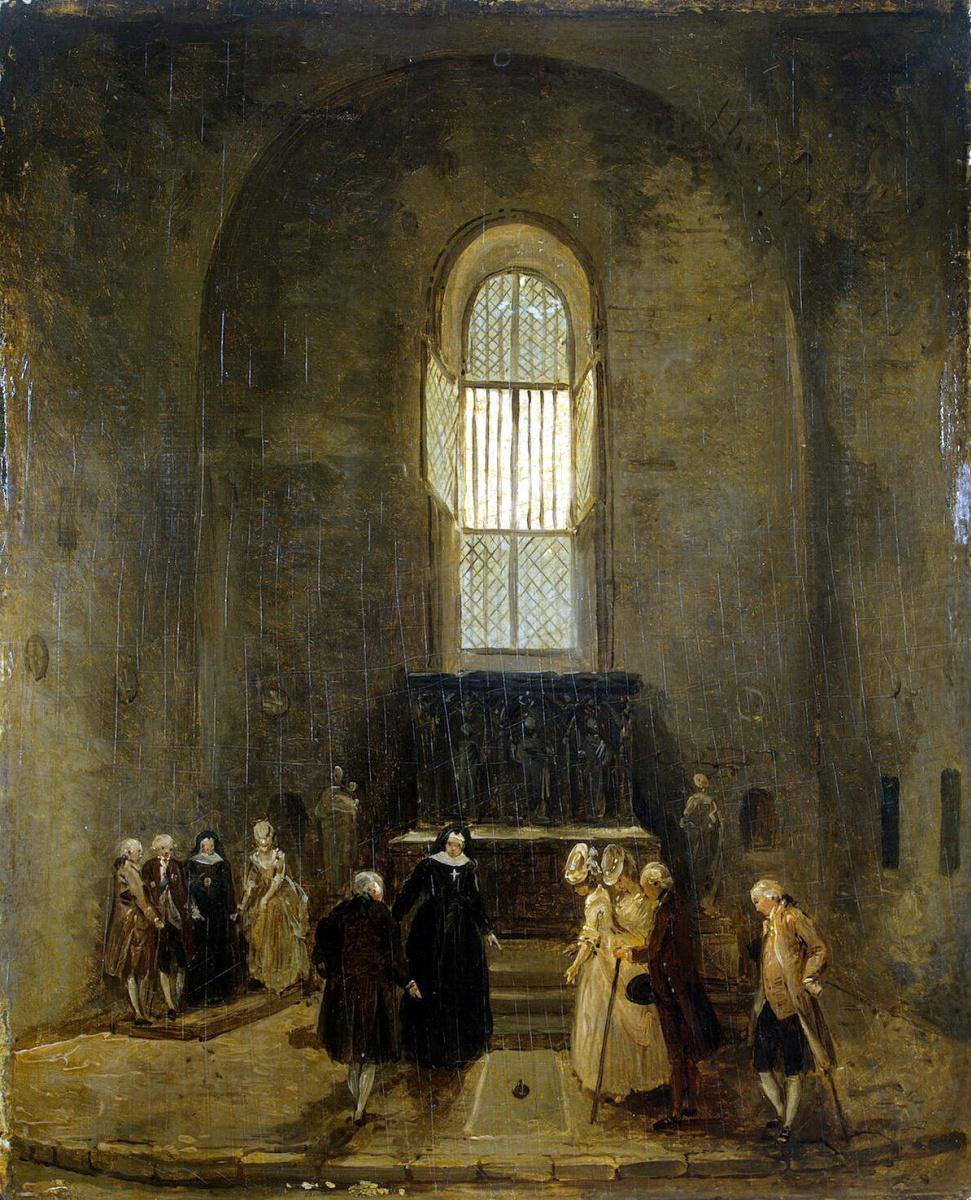Гюбер Робер. Осмотр старой церкви