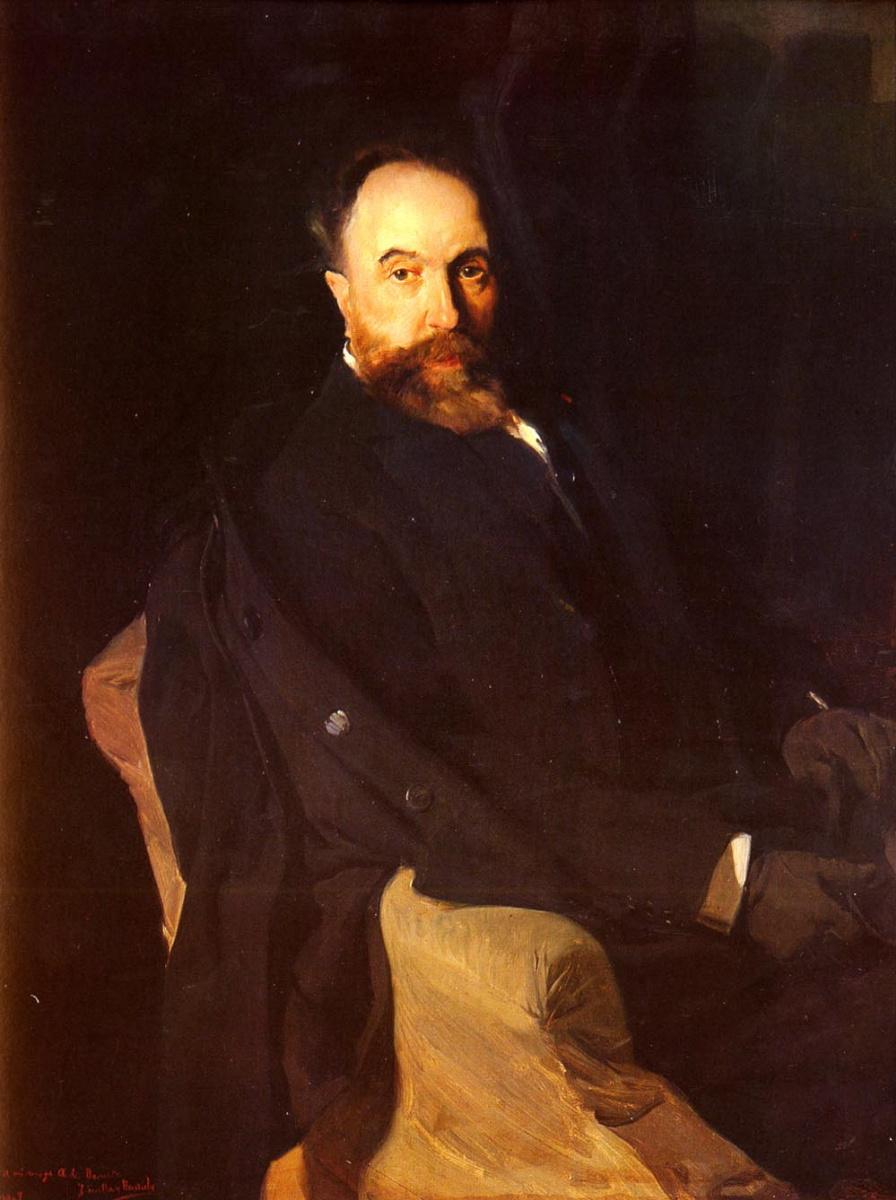 Хоакин Соролья (Соройя). Падре Аурелиано де Беруте