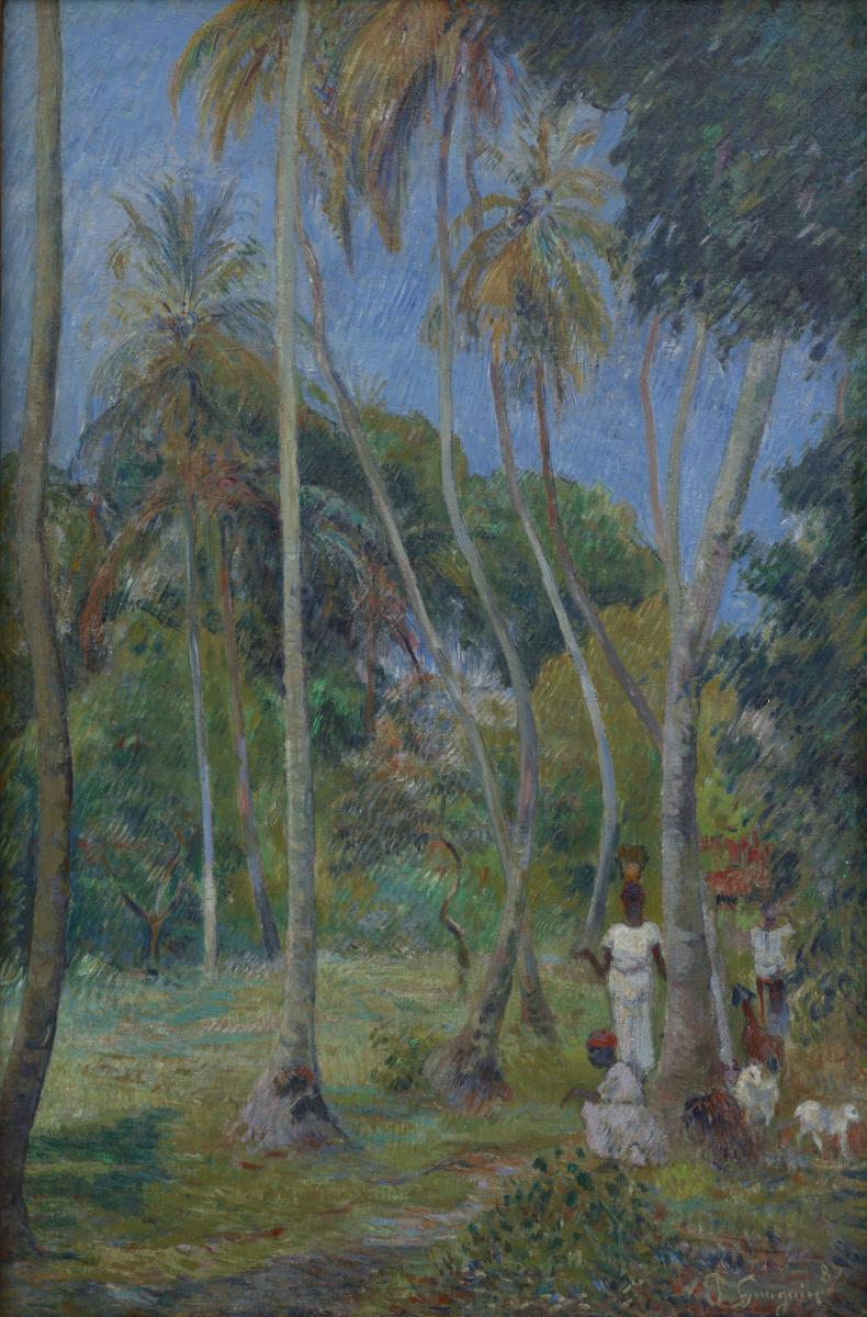 Поль Гоген. Путь под пальмами