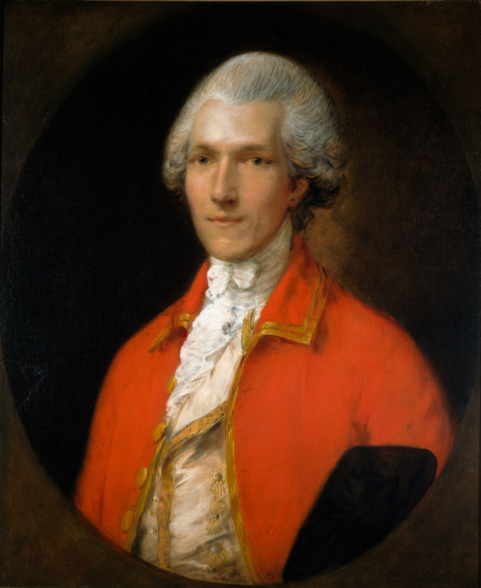 Thomas Gainsborough. Sir Benjamin Thompson, later count Rumford