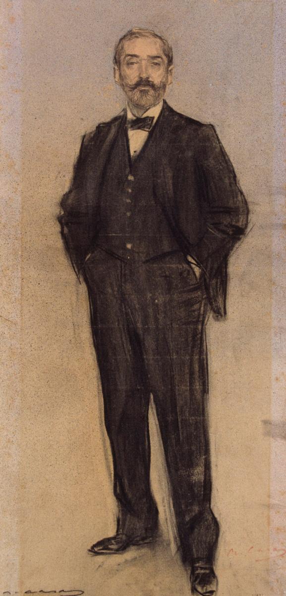Рамон Касас Карбо. Портрет Эмиля Фернандеса, «Наполеона»