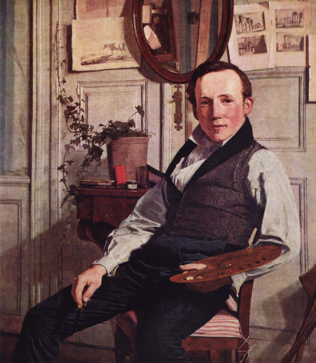 Кристен Кёбке. Портрет Ф. Содринга
