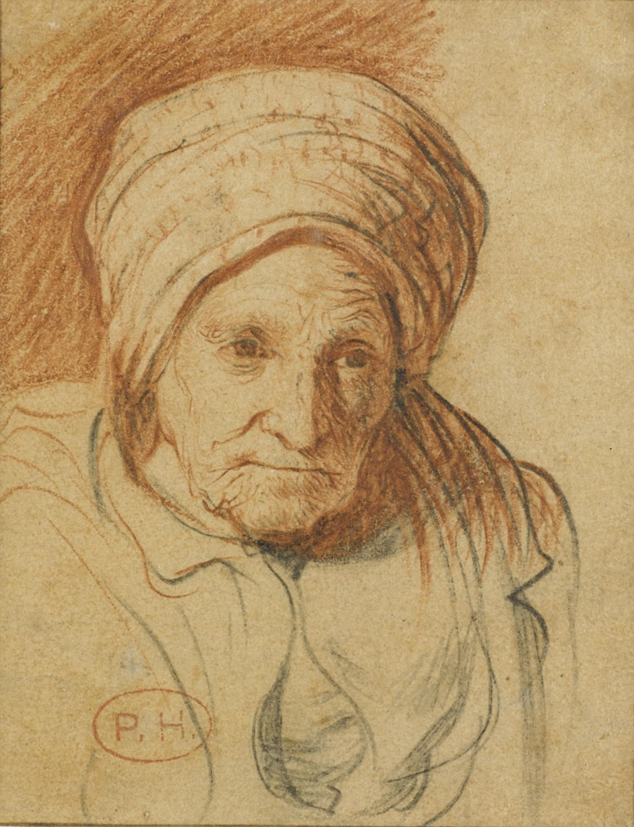 Ян Ливенс. Портрет пожилой женщины (Мать Рембрандта ван Рейна)