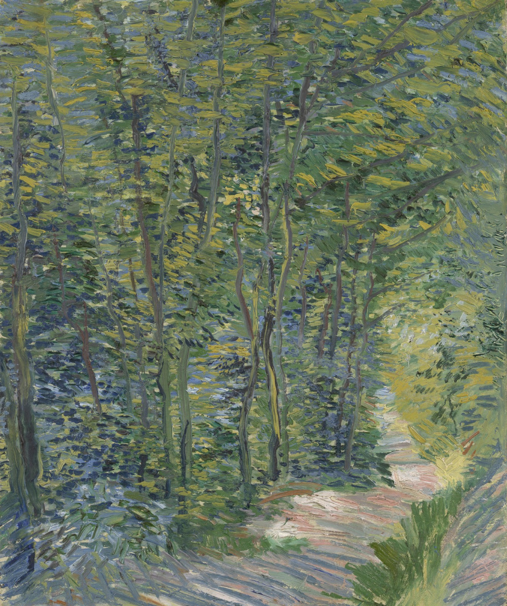 Vincent van Gogh. Path in the woods