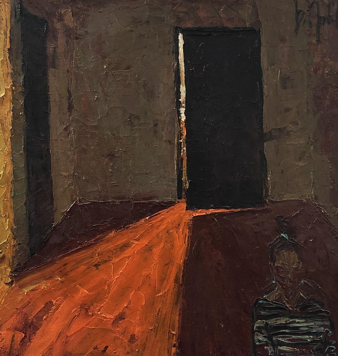 Alexey Shipelkin. Yellow light in my vestibule