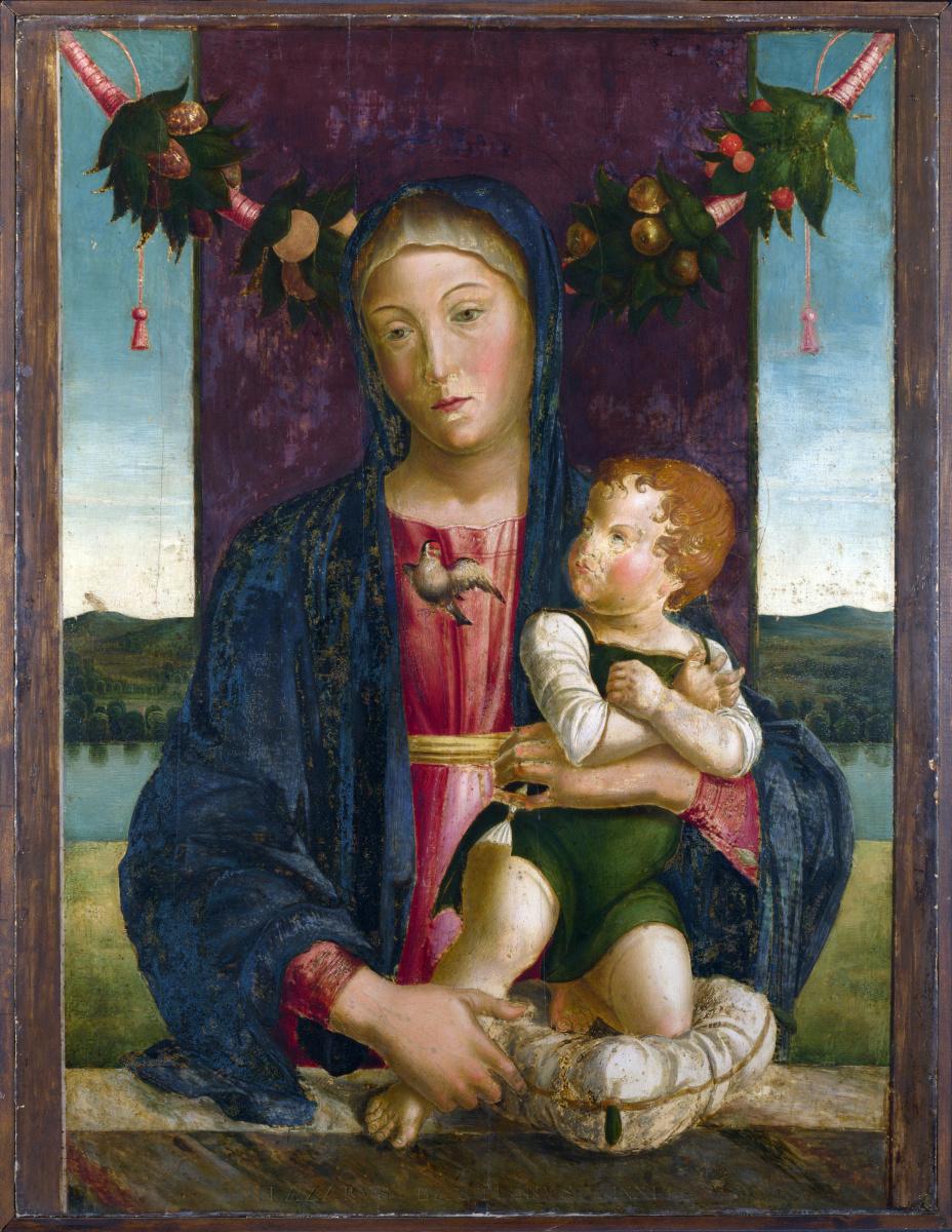 Ладзаро Бастиани. Дева с младенцем