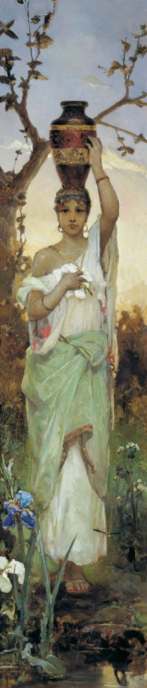 Вильгельм Александрович Котарбинский. Женщина с кувшином