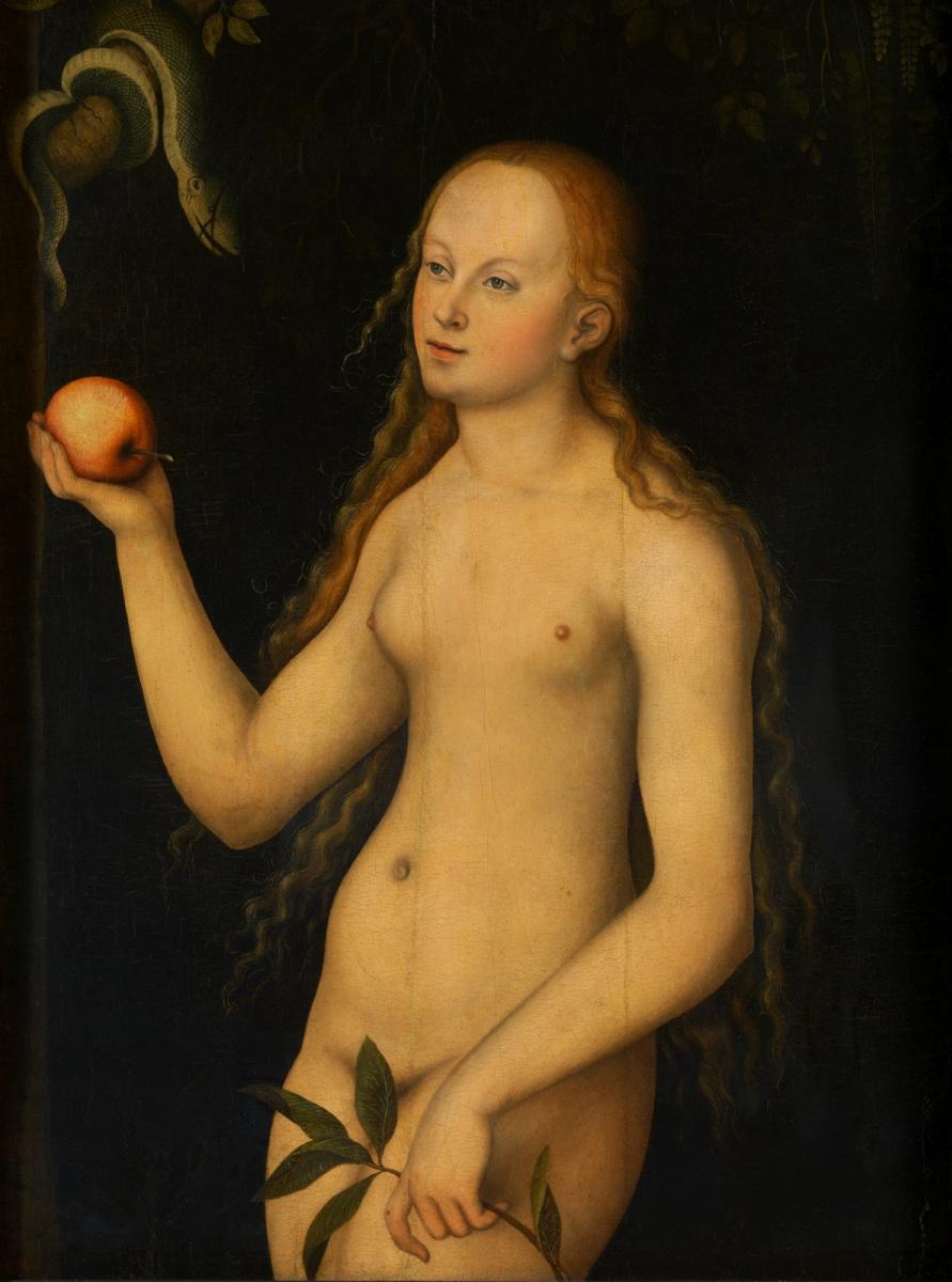 Lucas Cranach the Elder. Eva