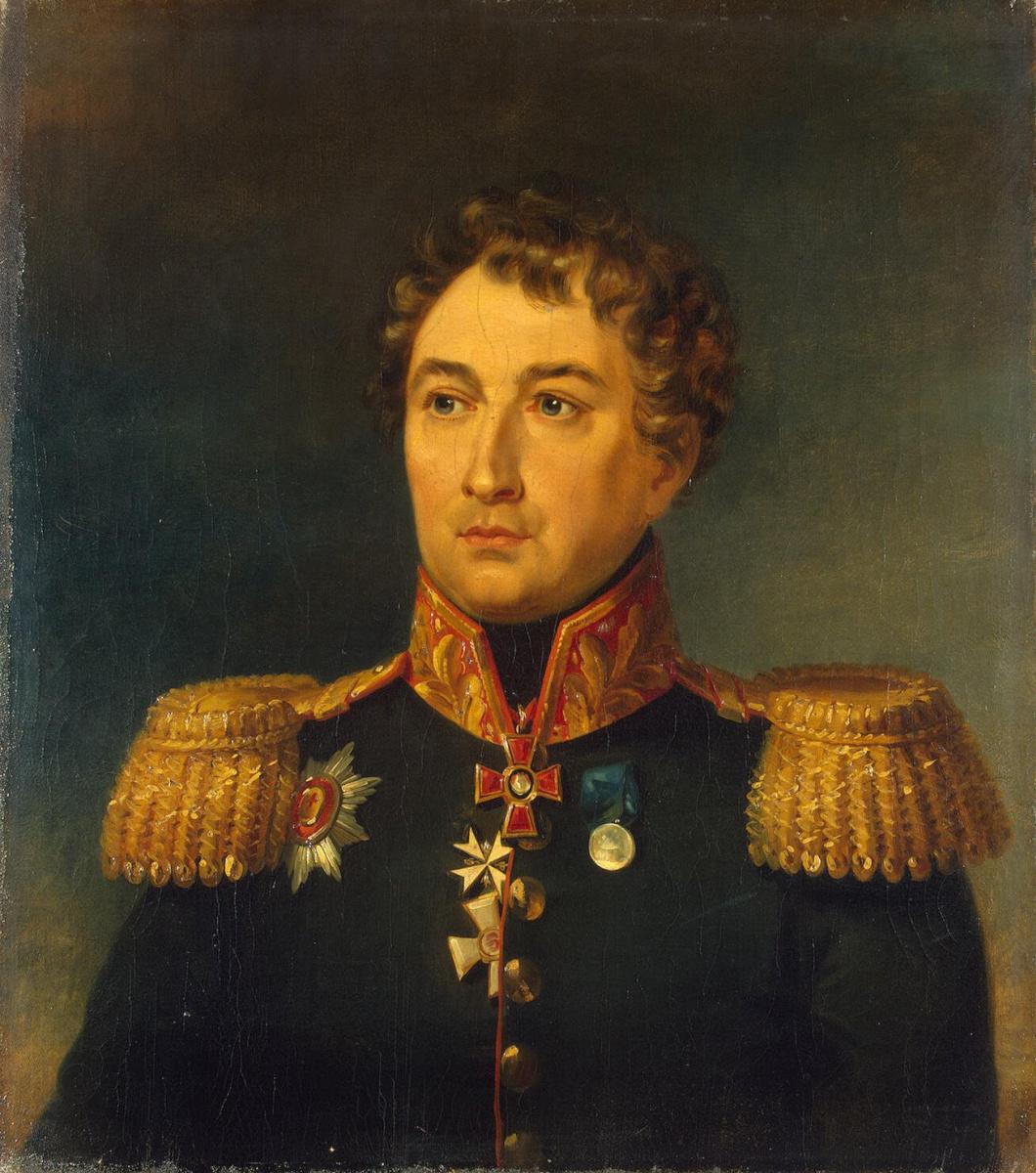 Джордж Доу. Портрет Петра Михайловича Колюбакина