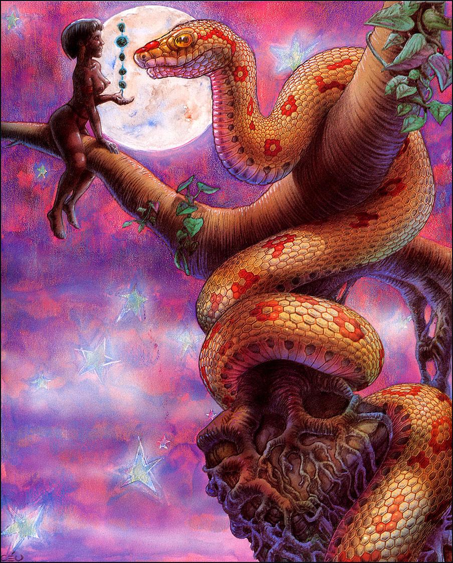 Кей. Большая змея