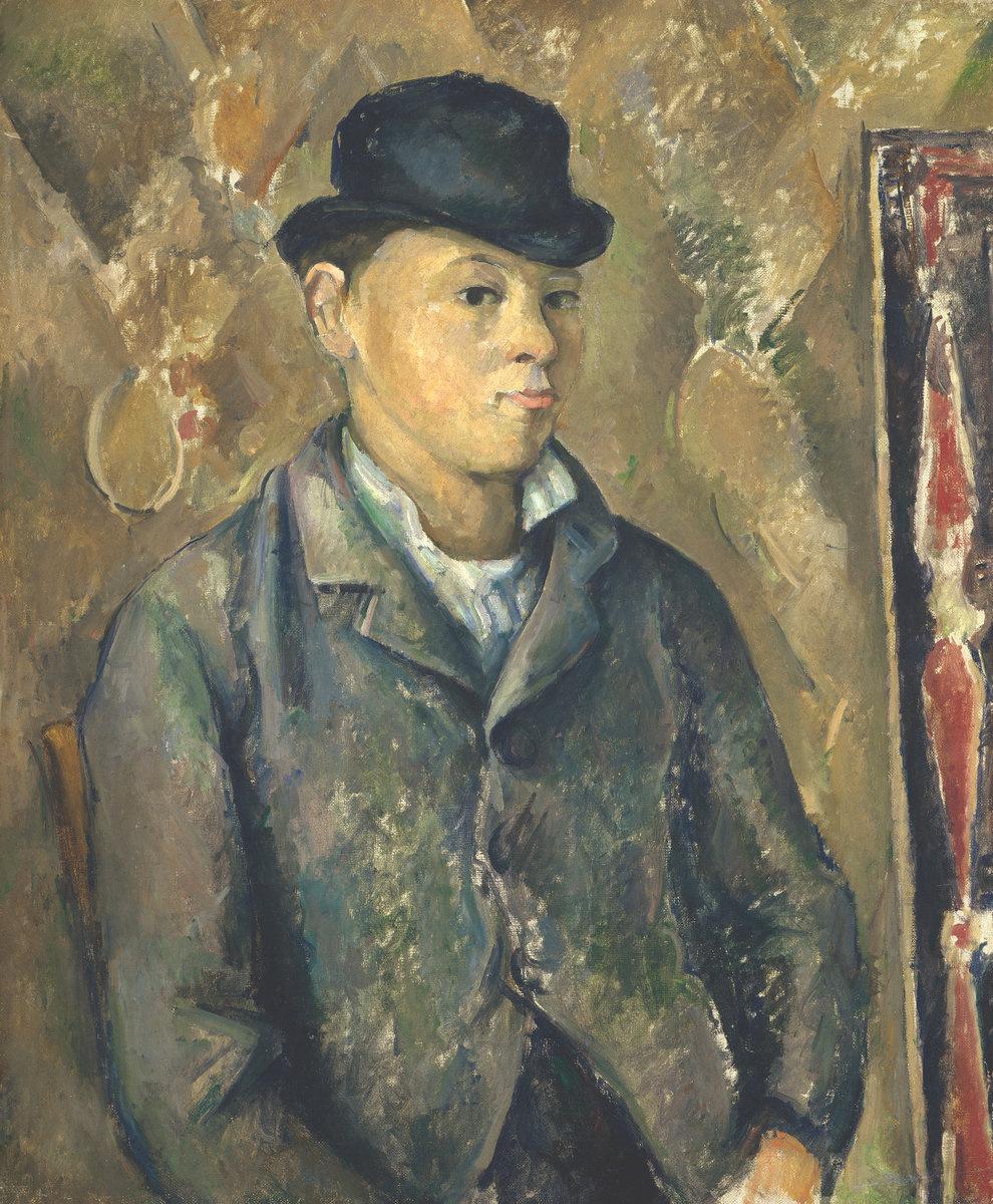 Paul Cezanne. The portrait of Paul, the artist's son