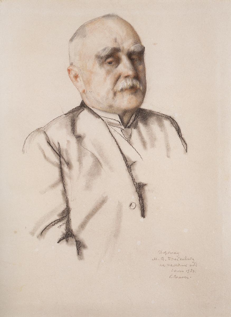 Константин Андреевич Сомов. Портрет М.В. Брайкевича