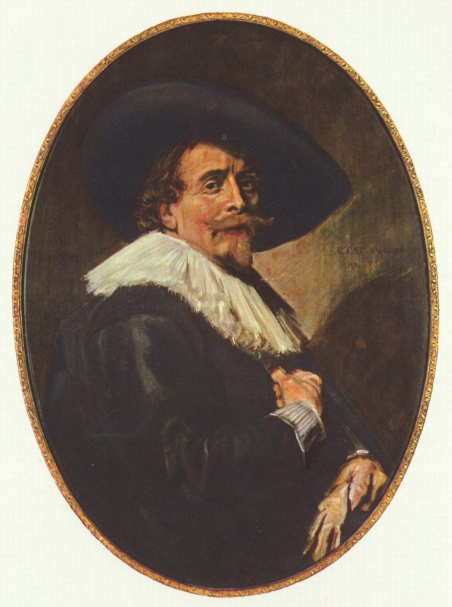 Франс Хальс. Мужской портрет