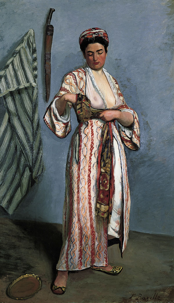 Фредерик Базиль. Женщина в мавританском костюме