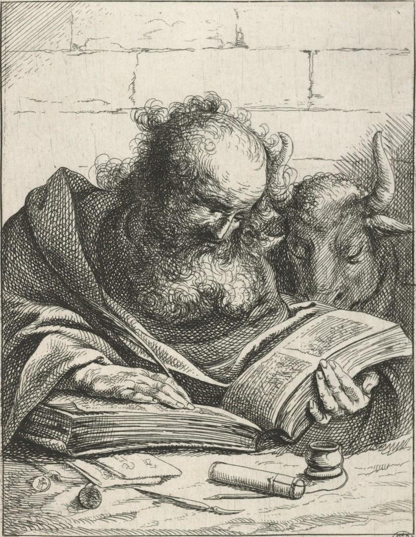 Ян Ливенс. Святой Лука