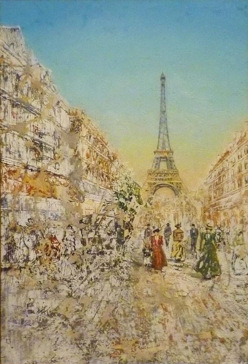 Никас Степанович Сафронов. Импульсивное воспоминание о пребывании в Париже