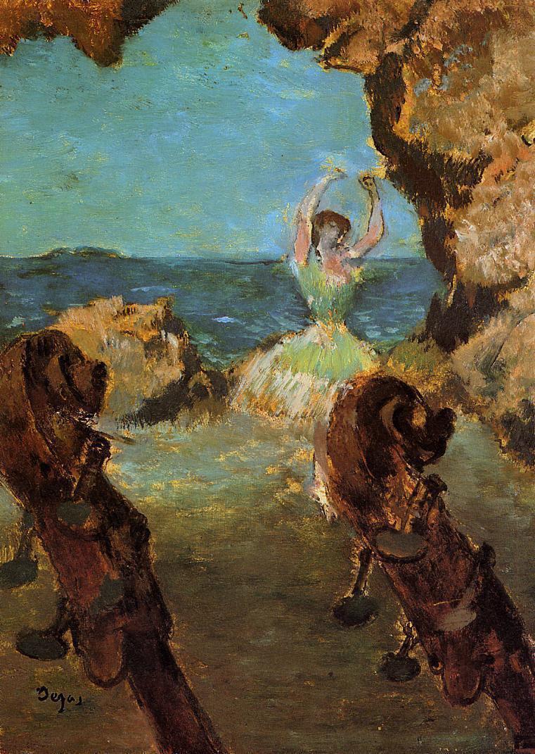 Эдгар Дега. Балерина на сцене