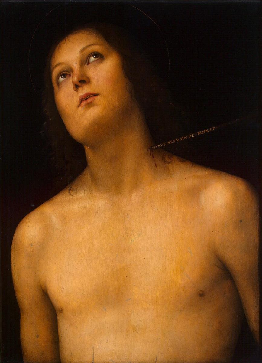 Пьетро Перуджино. Святой Себастьян