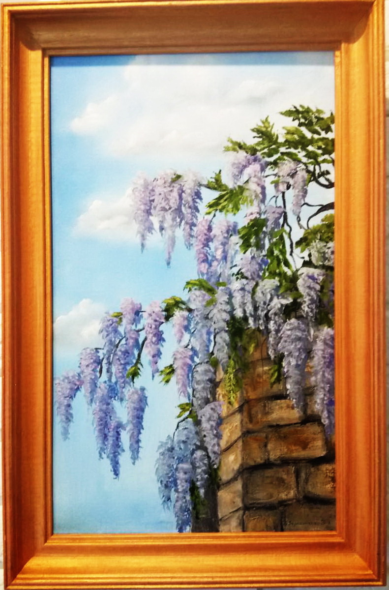 Ольга Болеславовна Горпинченко. Gentle wisteria